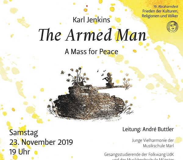 2019 11 17 Plakat The Armed Man
